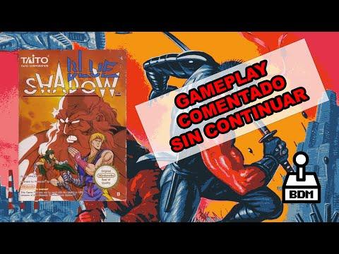 BLUE SHADOW / SHADOW OF THE NINJA | NINTENDO NES | GAMEPLAY COMENTADO