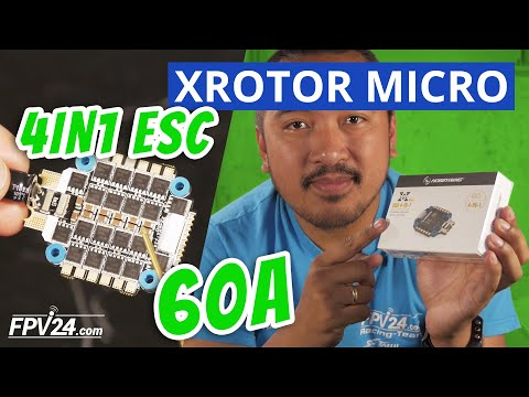 Hobbywing Regler XRotor 4in1 ESC 60A – Ein kleiner Überblick
