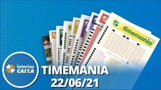 Resultado da Timemania - Concurso nº 1653 - 22/06/2021