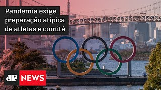 Brasil corre para imunizar atletas para Olimpíadas de Tóquio