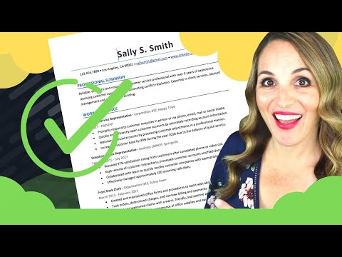 How To Write A Resume Step By Step - 6 SIMPLE Steps To Write A Resume photo