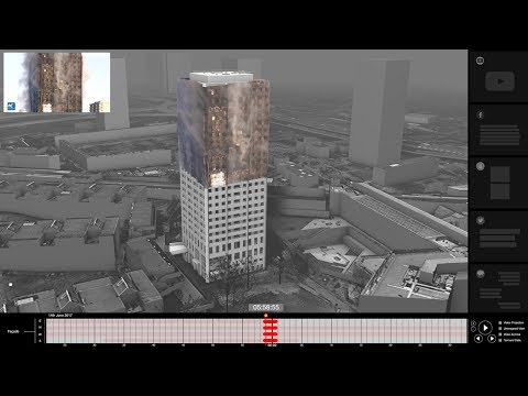 Forensic Architecture seek footage for Grenfell Tower fire investigation