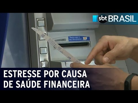 Mais de 50% dos brasileiros sofrem de estresse por causa da saúde financeira | SBT Brasil (20/07/21)