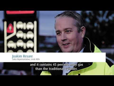How clean hydrogen helps light up roads in Sweden