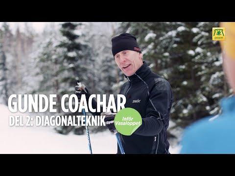 Gunde coachar inför Vasaloppet – Del 2. Diagonalteknik