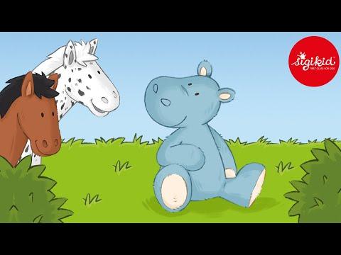Kleines, blaues Nilpferd - eine Hörgeschichte für Kinder ab 2 Jahren