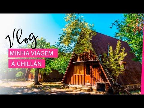 Vlog - Minha viagem à Chillán, Chile | Pigmento F