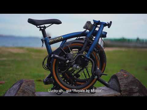 ROYALE foldable bicycle - For the special one (ft. Suhaimi Yusof) | MOBOT