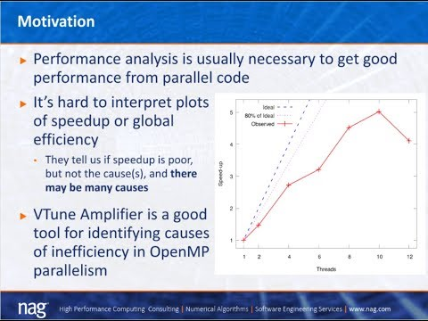 How to identify causes of poor OpenMP parallel performance using the Intel® VTune Amplifier
