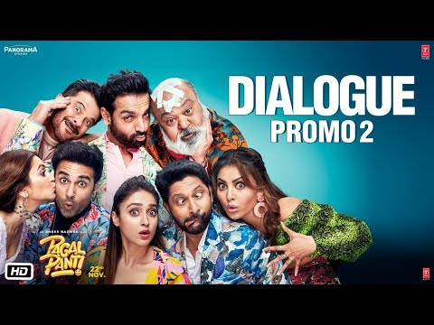 Pagalpanti: (Dialogue Promo 2) | Anil, Urvashi, John, Arshad, Ileana, Pulkit, Kriti
