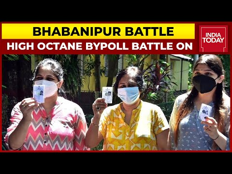 Battle For Bhabanipur: High Octane Contest On, 48.08% Voter Turnout Recorded Till 3 PM