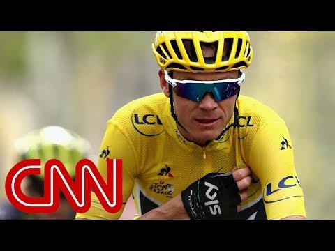 Tour de France champ Chris Froome fails drug test