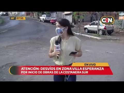 Atención: Desvíos en zona de Villa Esperanza