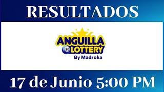 Lotería Anguilla 5:00 PM Resultados de hoy