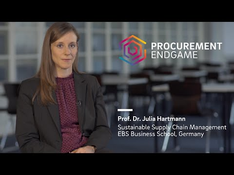 Prof. Dr. Julia Hartmann (EBS Business School) on The Procurement Endgame
