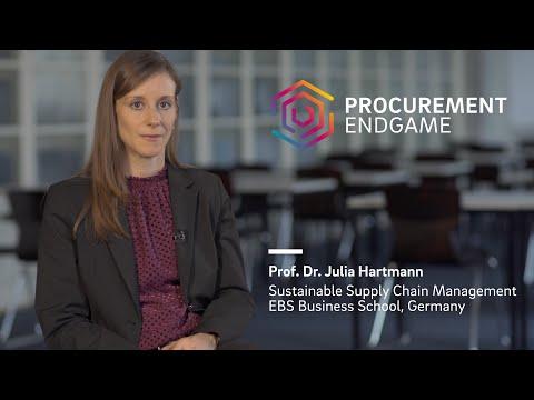 Prof. Dr. Julia Hartmann (EBS Business School) on The Procurement Endgame