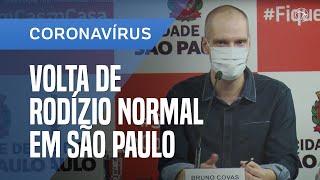 COLETIVA DA PREFEITURA DE SÃO PAULO SOBRE A PANDEMIA DO CORONAVÍRUS