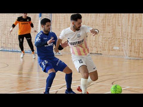 Industrias Santa Coloma   Real Betis Futsal Jornada 6 Temp 20 21