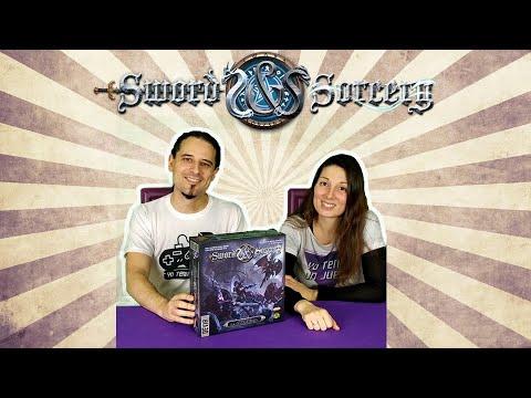 Sword & Sorcery - Cuando Llega La Oscuridad - Unboxing - Yo Tenía Un Juego De Mesa #66