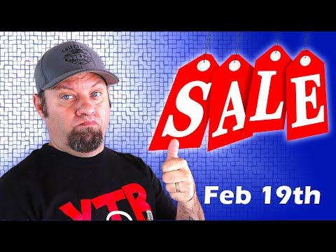 Ham Radio Shopping Deals for February 19th