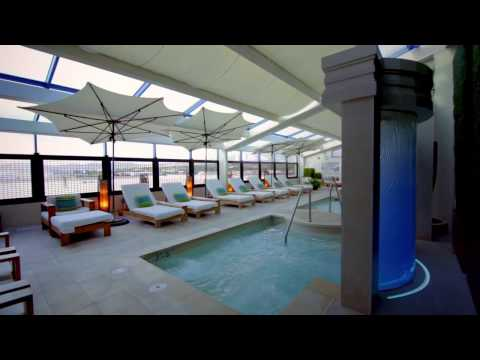 Aqua Spa Lounge & Outdoor Pool - Atlantis Casino Resort Spa