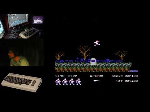 Probando los pads de Pedro Urán y un nuevo (viejo) Commodore 64