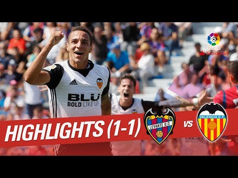 Resumen de Levante UD vs Valencia CF (1-1)