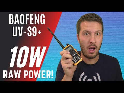 A 10W BaoFeng! Reviewing the UV-S9 Plus + REAL POWER Test | Baofeng Ham Radio