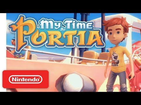 My Time at Portia - Announcement Trailer - Nintendo Switch