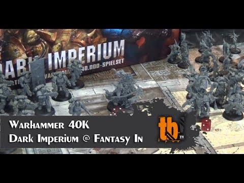 Warhammer 40K - Dark Imperium @ Fantasy In [TB-TV #95]
