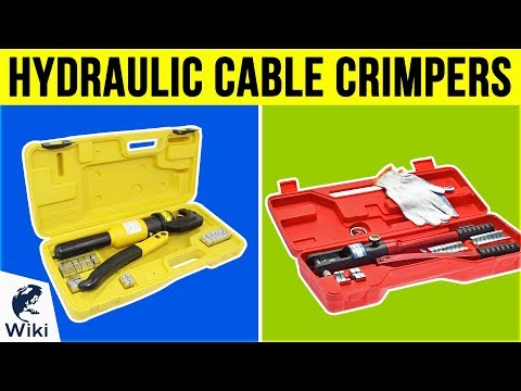 7 Best Hydraulic Cable Crimpers 2019