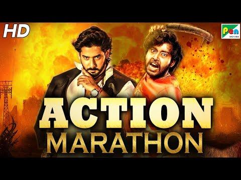 Action Movies Marathon   South Hindi Dubbed Movies Marathon 2021   Anth, Mera Lahoo