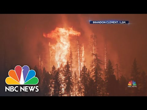 Firefighters Struggling To Contain Northern California's Dixie Fire