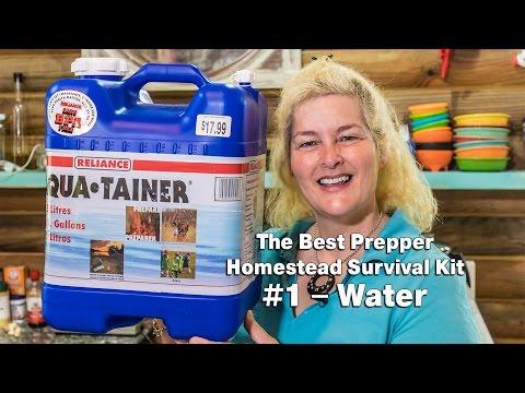 The Best Prepper Survival Kit #1 – Water