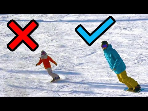 How To Ride In Alignment On A Snowboard