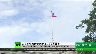 Misisipi retirará el símbolo de la Confederación de su bandera estatal