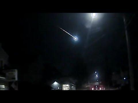 Police Dash Cam! Celestial Event Or Alien Intervention? 2018
