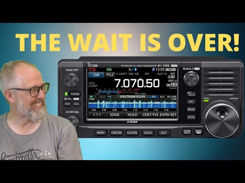 Meet the Icom IC-705! Presentation and Hands on Review