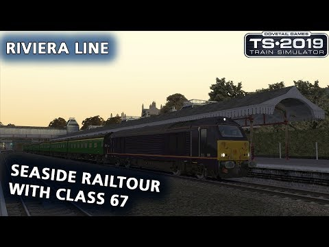 Train Simulator 2019: Rivera Line with Class 67