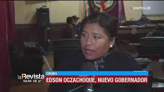 Asambleístas de Oruro deciden cambiar de gobernador por problemas administrativos