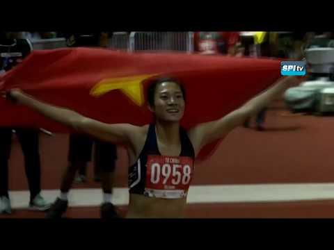 ไฮไลท์ วิ่ง 100 ม. หญิง ซีเกมส์ (ชิงทอง) - 8 ธ.ค. 2019