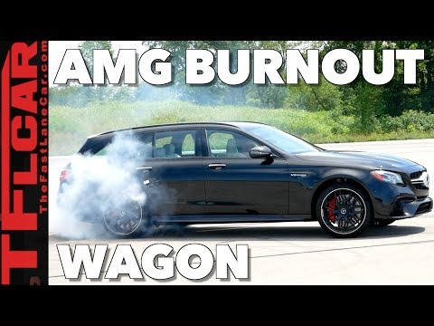 With Over 600 HP the Mercedes-AMG E63 S Wagon Is The Fastest Family Hauler Ever!