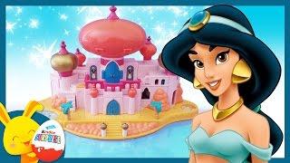 Aladdin et Jasmine - Le chateau - Le jouet Polly Pocket et l'histoire pour les enfants - Touni Toys
