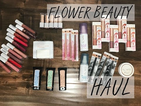 FLOWER BEAUTY Try-On HAUL | New Stuff!