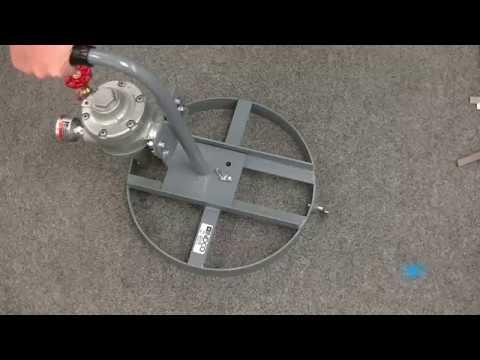 5 Gallon MAM-Q 1 1/2 HP Air Powered Pail Quic Mixers