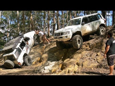 4x4 Challenge @ Prickly Ridge Walls