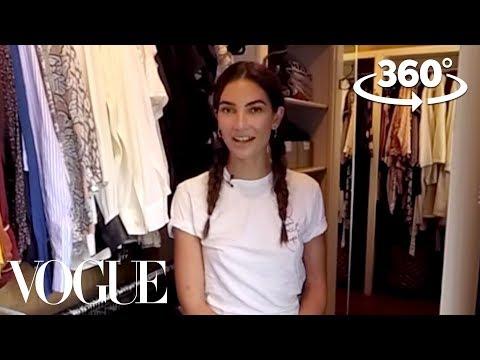 Lily Aldridge Takes You on a 360° Tour of Her Closet   Supermodel Closets   Vogue