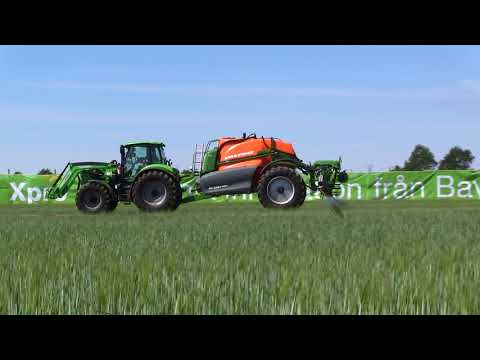Amazone UX 5201 Super Sprayer Borgeby 2018 demo