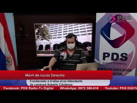 Entrevista - Lucas Zaracho - Condenado a 4 años el ex Intendente de Lambaré Roberto Cárdenas