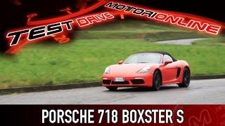 Porsche 718 Boxster S | Test drive, pregi e difetti